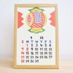 手仕事フォーラム_日本の手仕事卓上カレンダー|Array