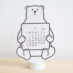 Noritake_DIE CUT CALENDAR_bear|Array