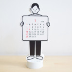 Noritake_DIE CUT CALENDAR_boy|Array